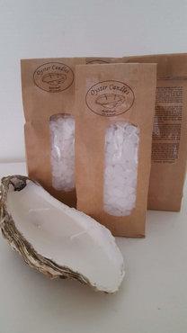 Navul verpaking oesterkaars met lont