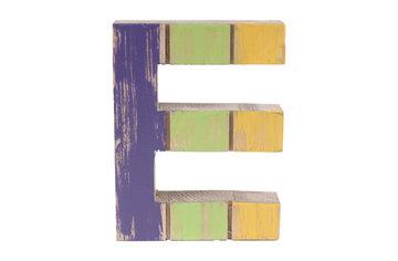 roots joy letter E afmeting 12 x 15