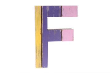roots joy letter F afmeting 12 x 15