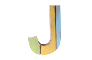 roots joy letter j   afmeting 12 x 15