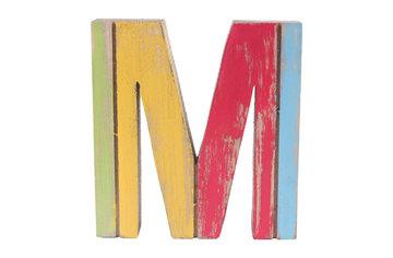 roots joy letter m afmeting 14 x 15