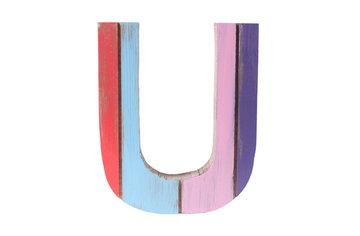 roots joy letter u afmeting letter 12 x 15