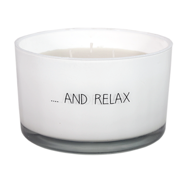 Sojakaars - And relax- geur Fresh Cotton